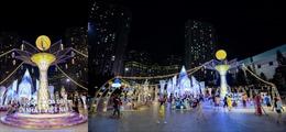 """Chiêm ngưỡng Cây Đèn Lồng hoa đăng """"khổng lồ"""" nhận kỷ lục lớn nhất Việt Nam"""