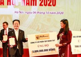 'Bầu Hiển'ủng hộ 5 tỷ đồng cho quỹ Vì người nghèo Thành phố Hà Nội