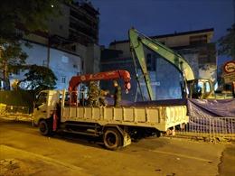 Quả bom tại phố Cửa Bắc đã được chuyển đi hủy nổ an toàn