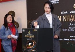 Đang diễn ra lễ bầu chọn và trao giải thưởng âm nhạc Cống hiến lần thứ 16-2021