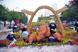 62 chú trâu sẽ góp mặt tại Đường hoa Tết Nguyễn Huệ