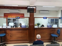 Thời gian tiếp nhận hồ sơ tại bộ phận một cửa xã phường Hà Nội là đến mấy giờ?