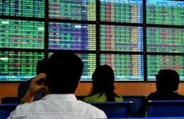 Thị trường chứng khoán 'lao dốc' trong phiên sáng đầu tuần