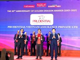 Prudential là DN bảo hiểm duy nhất lọt Top 10 doanh nghiệp FDI phát triển bền vững