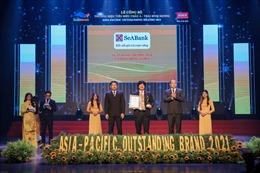 SeABank được vinh danh trong 'Top 50 doanh nghiệp tăng trưởng xuất sắc nhất Việt Nam'