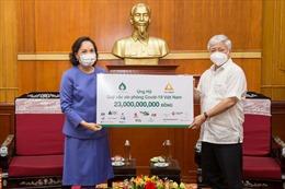 Tập đoàn TCC hỗ trợ 1 triệu USD cho Quỹ Vaccine phòng COVID-19