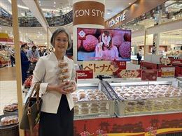 Hàng Việt Nam tiếp tục chinh phục hệ thống siêu thị AEON tại Nhật Bản