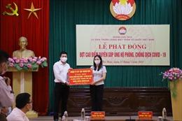 BRG ủng hộ 1 tỷ đồng và 20.000 khẩu trang cho cho Bắc Giang và Hà Nam chống dịch