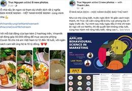 Mạng xã hội sôi động hơn bao giờ hết với tinh thần 'Bạn khỏe mạnh, Việt Nam khỏe mạnh'