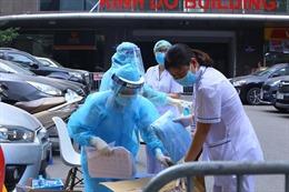 Hà Nội tiếp tục ghi nhận 12 ca dương tính mới, có 2 người trong một nhà ở Thanh Nhàn