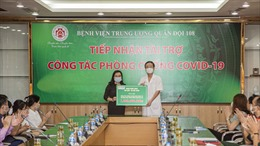 SHB tiếp tục đồng hành, hỗ trợ các bệnh viện và người nghèo vượt qua đại dịch COVID-19