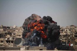 Bom rơi trúng hầm trú ẩn tại Syria, ít nhất 17 dân thường thiệt mạng