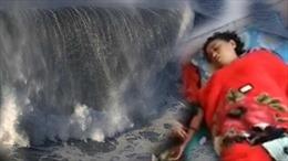 Năm rưỡi mất tích do sóng cuốn trôi, người phụ nữ dạt lại vào bờ vẫn bộ đồ cũ