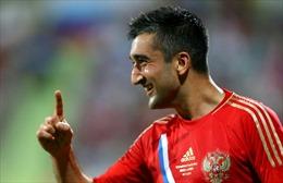 Tiền vệ Alexander Samedov chia tay đội tuyển Nga