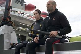 Lý Băng Băng tự đóng cảnh quay nguy hiểm trong bom tấn 'Cá mập siêu bạo chúa'