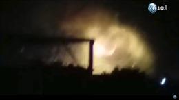 Nổ lớn rung chuyển sân bay quân sự Damascus, phòng không Syria chống trả