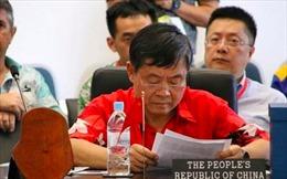 Đòi phát biểu trước, quan chức Trung Quốc gây náo loạn diễn đàn Thái Bình Dương