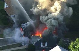 Hiện trường vụ 70 ngôi nhà cháy ngùn ngụt ở Mỹ nghi do nổ đường ống dẫn ga