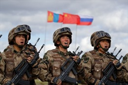 Hành động bất thường của Trung Quốc tại cuộc tập trận với Nga
