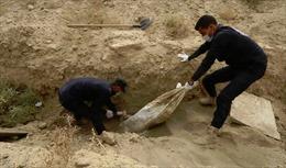 Phát hiện hố chôn tập thể 4.000 dân thường tại thành trì IS cũ ở Syria