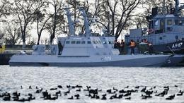 Ukraine phản bác quan điểm của Tổng thống Nga Putin về vụ đụng độ trên Biển Đen