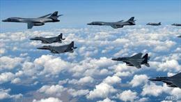 Máy bay ném bom Mỹ bất ngờ 'vắng bóng' trên Bán đảo Triều Tiên