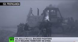 IS phục kích sát hại 40 dân quân người Kurd, tái chiếm thành trì miền Đông Syria