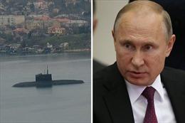Tàu ngầm 'tàng hình' Nga lầm lũi tiến về điểm nóng Eo biển Kerch?