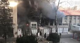 Phòng thí nghiệm trường đại học phát nổ, 3 sinh viên thiệt mạng
