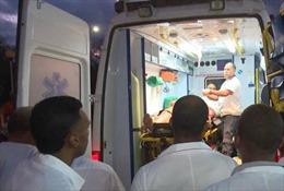 Tai nạn xe buýt chở người nước ngoài ở Cuba, 40 người thương vong