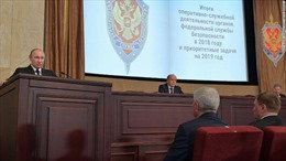 Tổng thống Putin tiết lộ số gián điệp nước ngoài bị 'bắt tại trận' ở Nga