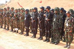 Campuchia, Trung Quốc diễn tập chống khủng bố và cứu trợ nhân đạo