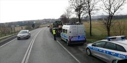 Đoàn xe quân sự Mỹ gây tan nạn liên hoàn ở Ba Lan, 2 binh sĩ bị thương
