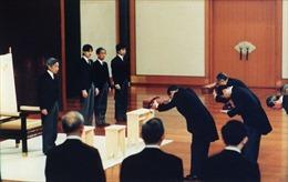 Những điều chưa biết về nghi thức thoái vị và đăng cơ của Nhật hoàng