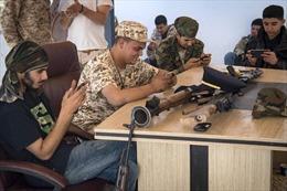 Lính Libya huấn luyện chiến đấu bằng trò chơi điện tử