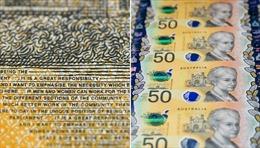 400 triệu tờ tiền 50 đôla Australia bị mắc lỗi đánh máy