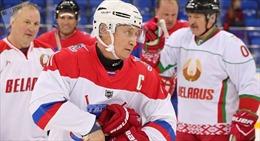 Tổng thống Putin chia sẻ về 'bí kíp' ngoại giao hockey