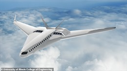 NASA phát triển máy bay chạy 100% năng lượng điện
