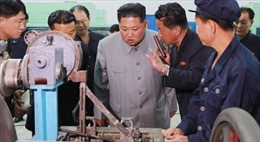 Thông điệp từ chuyến thị sát hàng loạt nhà máy trọng điểm của Chủ tịch Triều Tiên