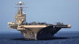 Tàu sân bay Mỹ 'ngại' tên lửa Iran, chưa tiến vào Vịnh Ba Tư?