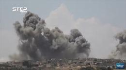 Xem chiến đấu Nga-Syria dồn lực 100 lần không kích phiến quân trong vòng 24 giờ