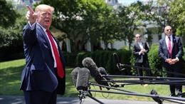 Tổng thống Trump thẳng thừng mắng phóng viên hỏi chuyện ông Putin