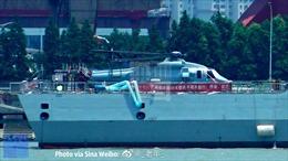 Lộ ảnh Trung Quốc thử nghiệm trực thăng Z-20 phiên bản hải quân