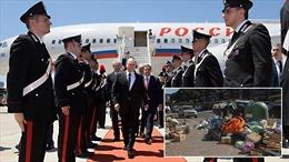 Tác động không ngờ từ chuyến thăm Italy của Tổng thống Nga Putin