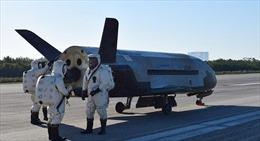 Lộ hình ảnh máy bay trinh sát quỹ đạo tối mật của Mỹ hoạt động trong không gian