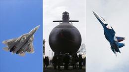 Nga chào hàng Ấn Độ những loại vũ khí tối tân nào?
