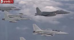 Nga-Hàn tung video ghi lại vụ chạm trán 'xâm phạm không phận'
