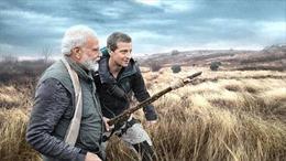Vdieo Thủ tướng Modi trải nghiệm sinh tồn giữa rừng rậm Ấn Độ