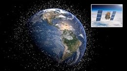 Nga phát minh 'vệ tinh tự hủy' ngăn chặn vấn nạn rác vũ trụ