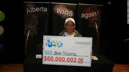 Đánh một dãy số gần 20 năm, người gốc Việt trúng 1.300 tỷ đồng ở Canada